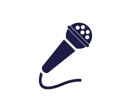 PR - Microphone Icon - Executive Social Media